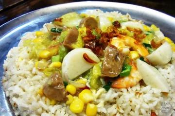 nasi penjara (rice a la prison)